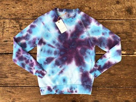 The Masshole Project Masshole Tie-Dye Sweatshirt - Purple