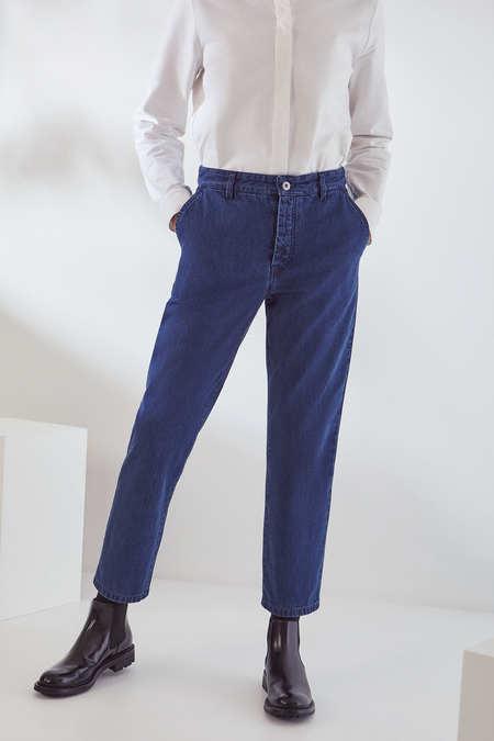Kowtow Core Jean in Mid Blue Denim