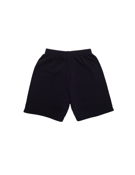Kids Balenciaga Logo Shorts - Black