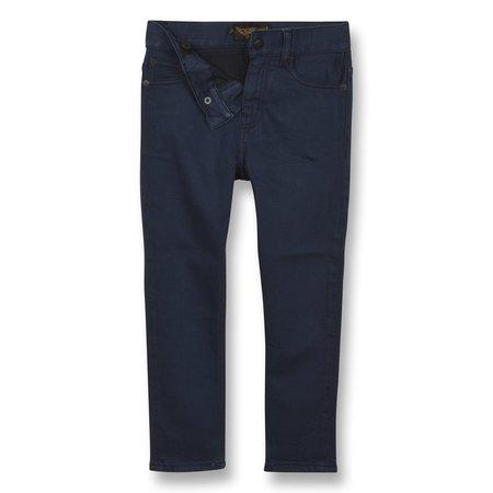 kids finger in the nose ewan comfort fit jeans - sulphur blue