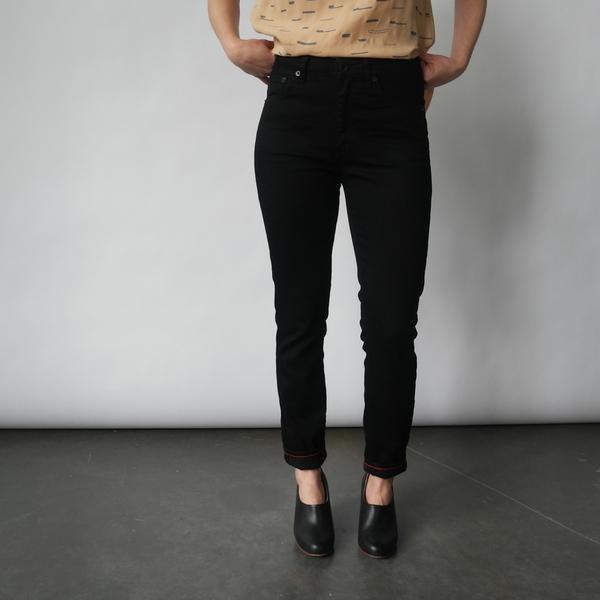 Raleigh Denim Workshop Haywood Skinny Jeans in Black