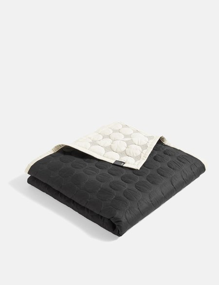 Hay Mega Dot Blanket - Black/Cream