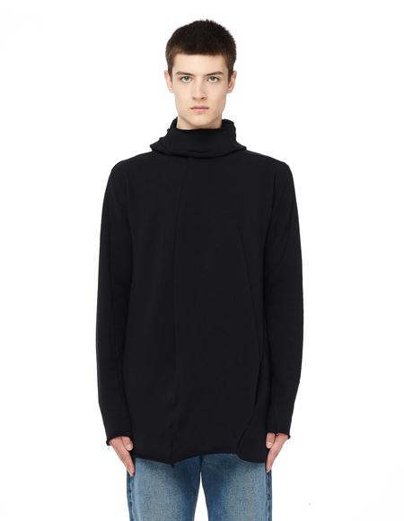 Leon Emanuel Blanck Distortion Cotton Hoodie