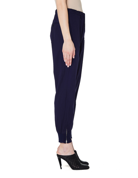 Y's Navy Blue Cotton Trousers