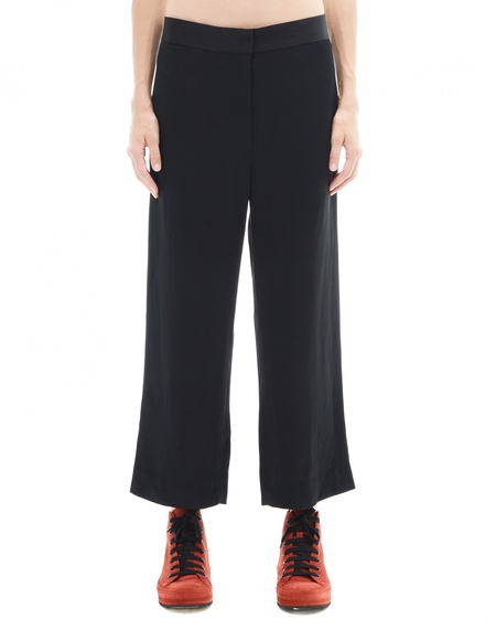 The Row Rayon And Linen Trousers