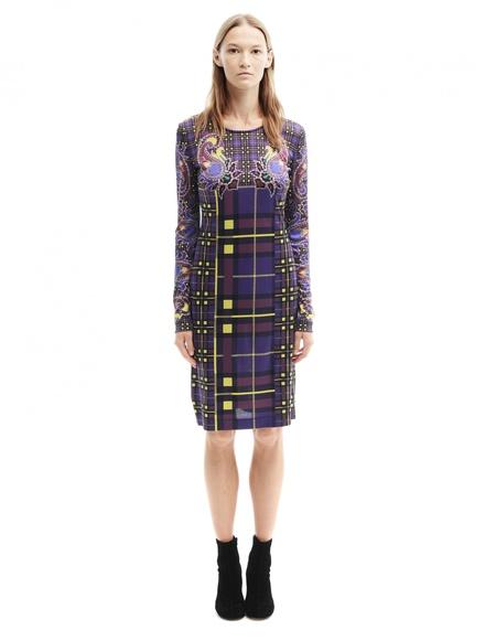 Mary Katrantzou Printed Silk Dress - purple