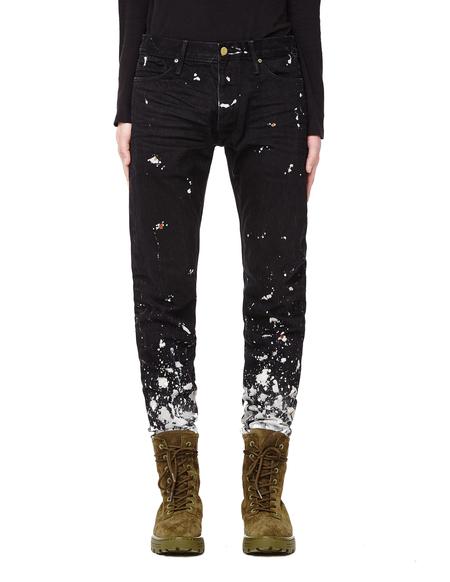 Fear of God Selvedge Denim Painters Jeans - Black