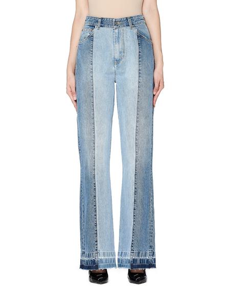 Golden Goose Double-Denim High-Rise Jeans