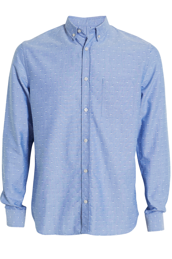 Men's Whyred Collin Oxford Dot Shirt