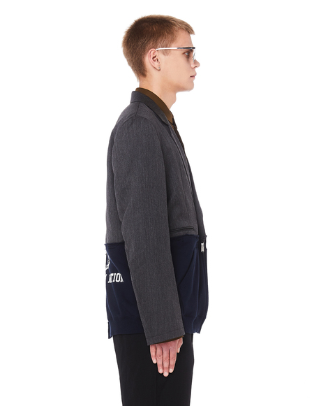 JohnUNDERCOVER Printed Jacket - Grey/Navy