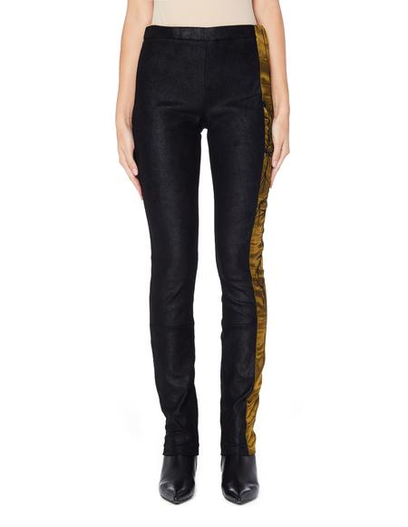 Haider Ackermann Leather Leggings - Black