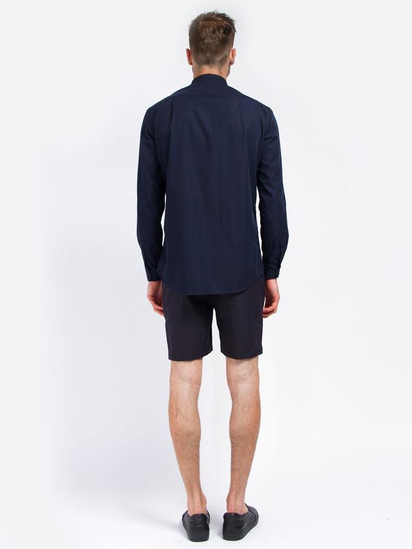 Carlos Campos Uniform Woven Shirt Navy