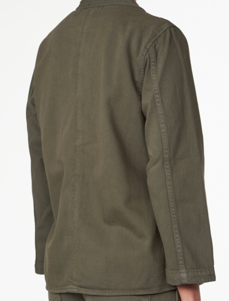 Trave Ingrid Relaxed jacket - Green Tambourine