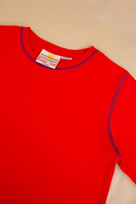 L.F.Markey Basic Tee - Red