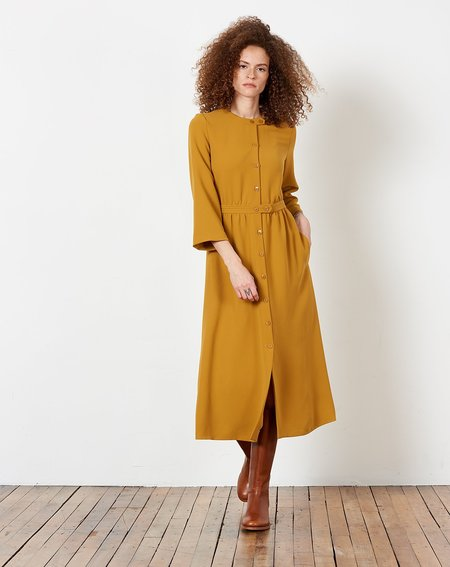 A.P.C. Lux Dress - Mustard