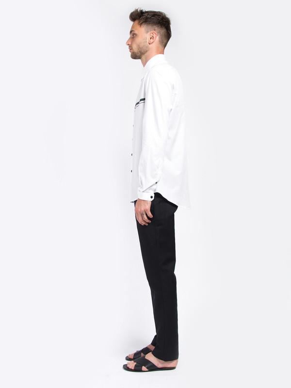 Carlos Campos Palm Woven Shirt