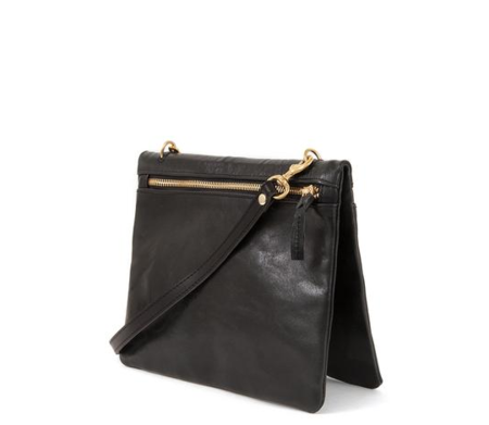 Clare V. Jumelle Crossbody - Black