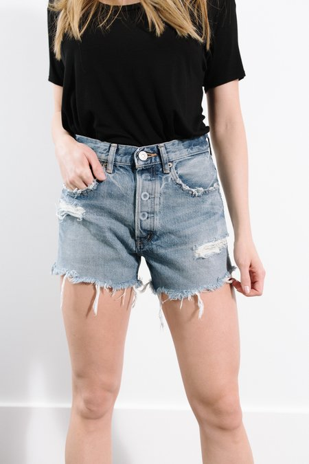 MOUSSY Chester Shorts - Light Blue
