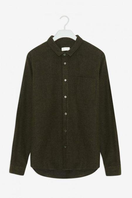 frisurclothing flannel shirt - forest