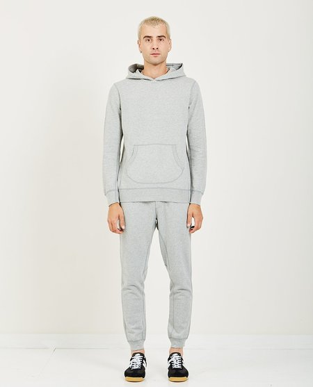 Wings+Horns ORIGINAL HOODED PULLOVER - HEATHER GREY