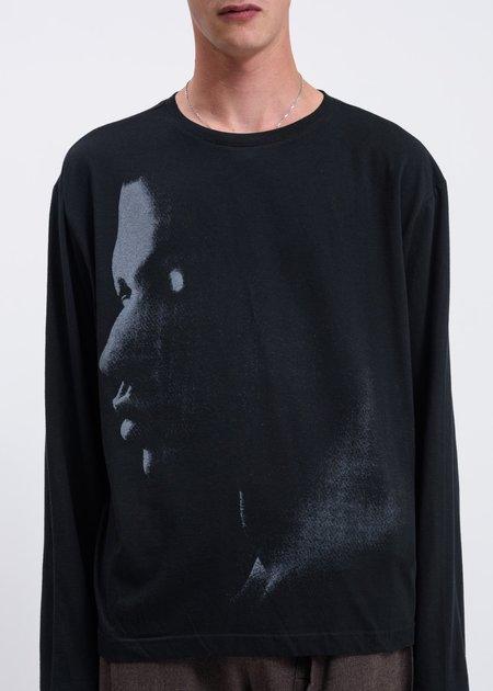 Dossier Valley Long Sleeve T-shirt - Black