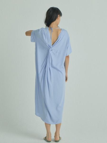 WNDERKAMMER Tender Twist Dress - Light Blue