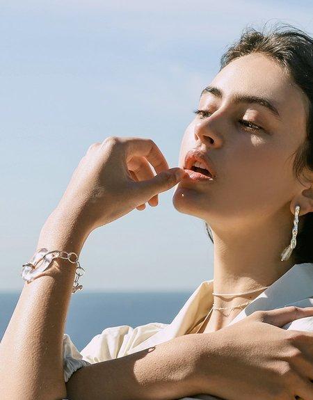 Cled Water Earrings - Sterling Silver