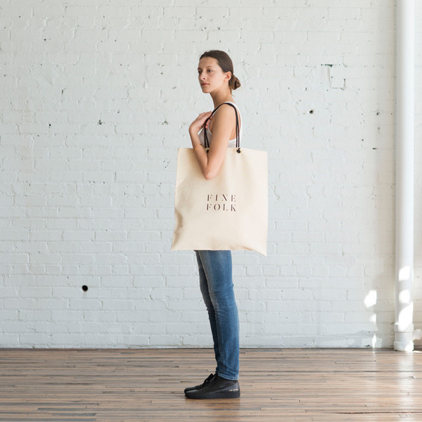 FineFolk Tote Bag