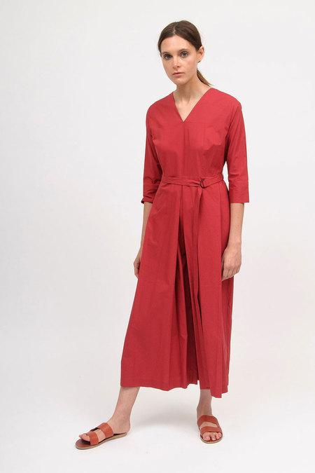 Bodice Jumpsuit - Red
