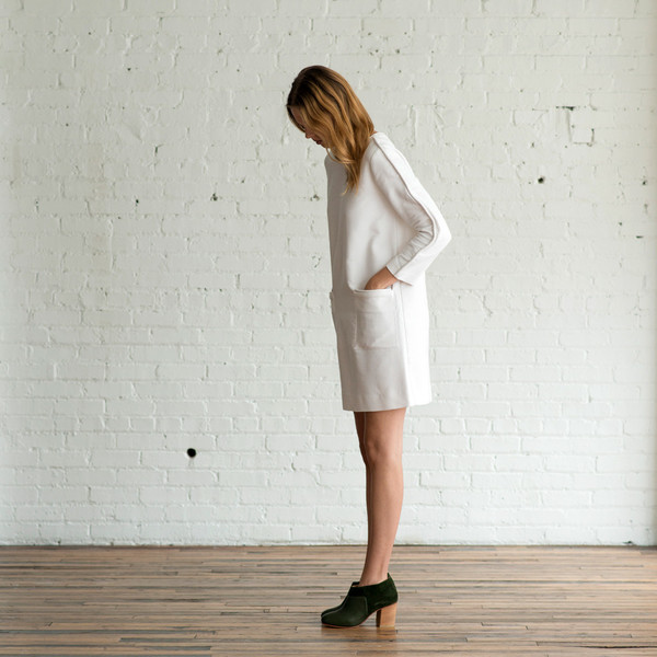 Horses Atelier Corded Smock Dress - SOLD OUT