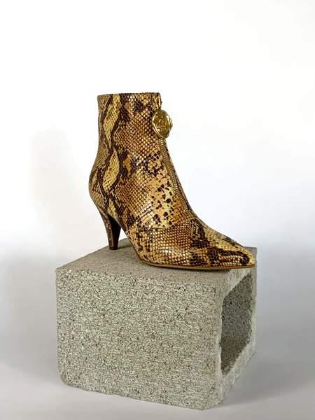 Taylor + Thomas Debbie Boots - Golden Python
