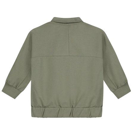 Kids Gray Label Collar Jacket - Moss