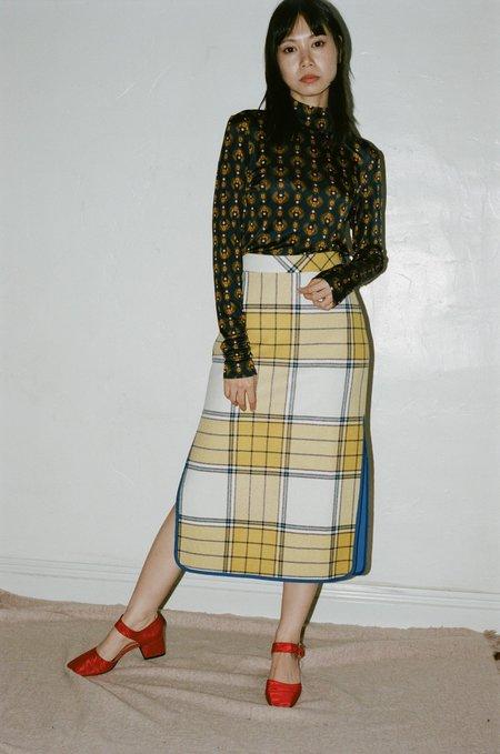 Rodebjer Hapi Skirt - Gold Mustard