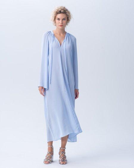 VOZ Apparel Japanese Polyester Bell Sleeve Dress