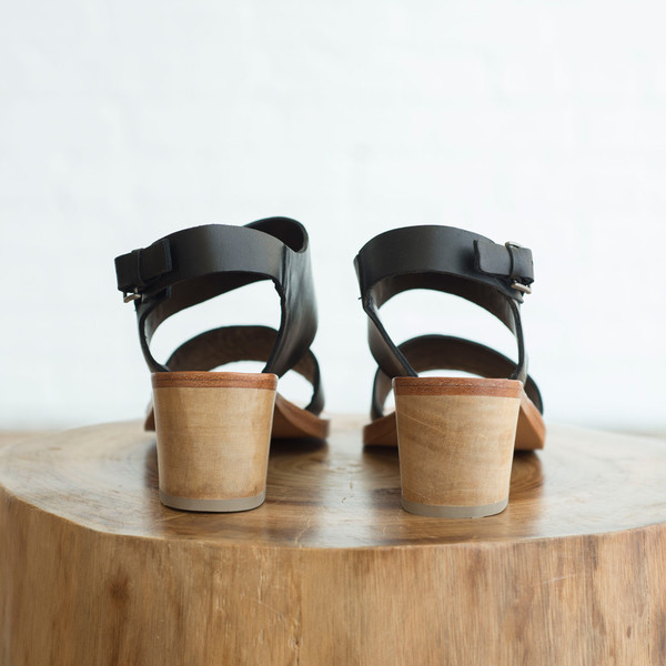Rachel Comey Tulip Sandal Polished Black