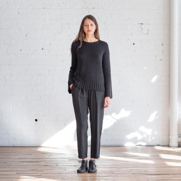 Raquel Allegra Bell Sleeve Raglan Sweater