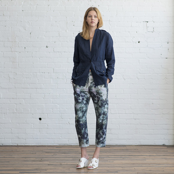 Raquel Allegra Easy Pant Cosmos Print - SOLD OUT