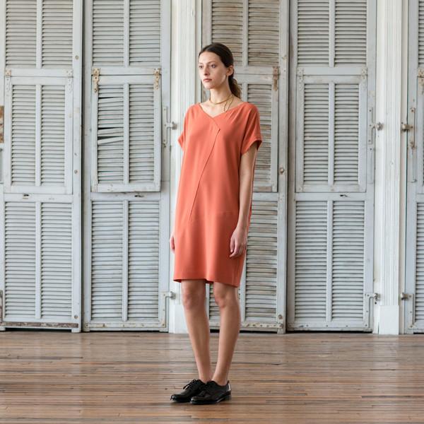 Schai Origami Seam Dress