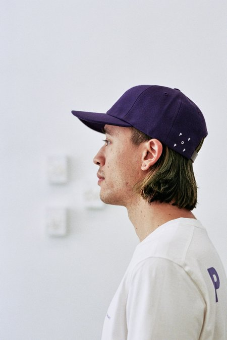 Pop Trading Company O 6 Panel Hat - Purple
