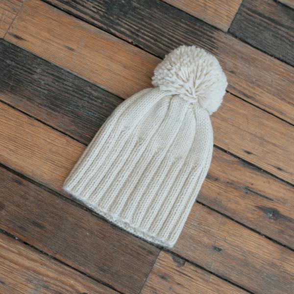 Ulla Johnson Pom Pom Hat Cream - SOLD OUT