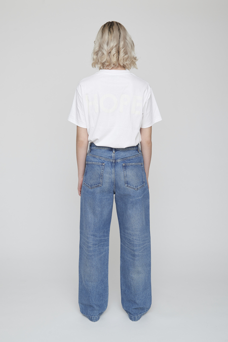 Unisex Tanaka DAD JEAN TROUSERS - MID WASHED