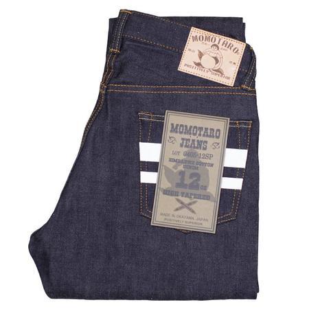 Momotaro Jeans High Tapered Fit Lightweight  Denim Jeans