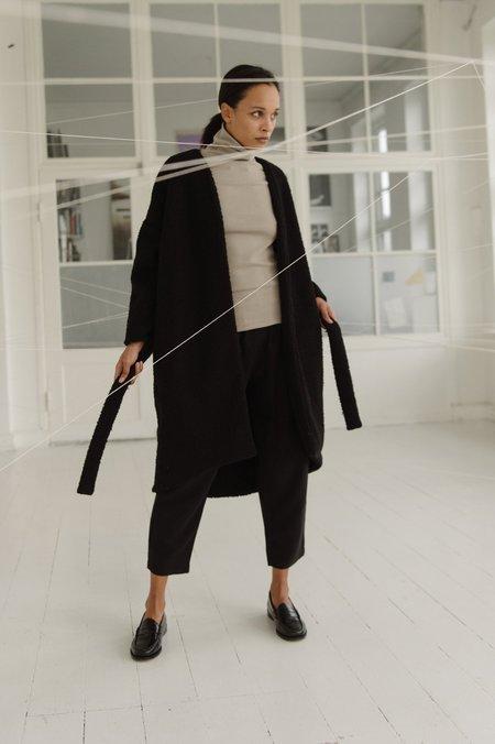 Priory Woobie Robe - Black