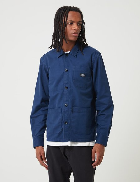 Dickies Caprock Over Shirt - Deep Blue