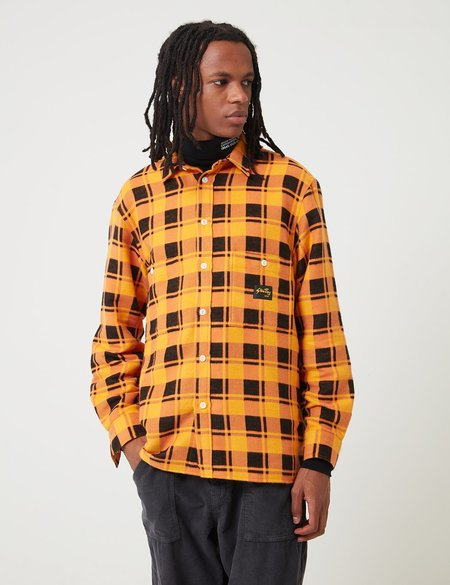 Stan Ray Flannel Shirt - Burnt Orange