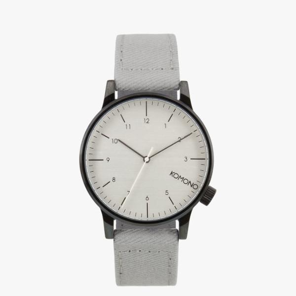 Komono Winston Heritage Duotone Grey Watch