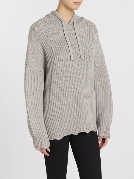 IRO Haedi Sweater - Beige/Stone Grey