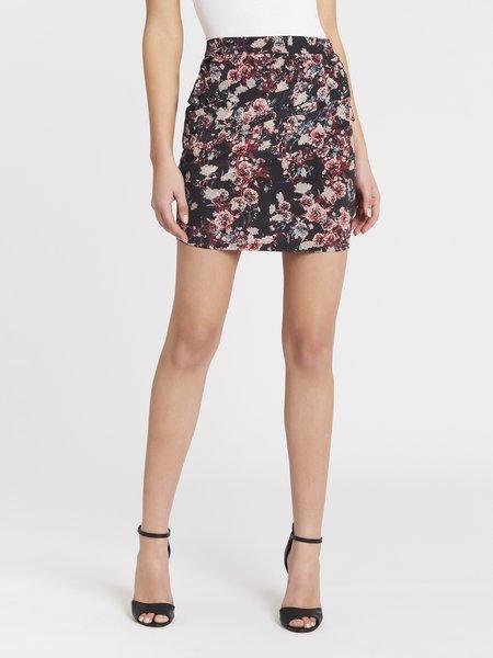 IRO Crono Skirt - Black/Pink