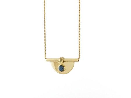 Artifacts Arc Necklace - Brass