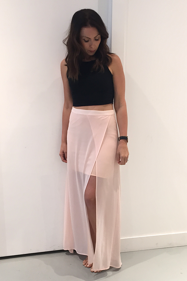 Pink Stitch Phoebe Skirt